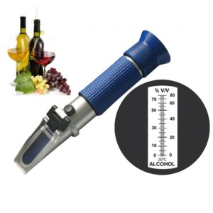 0-80 Alcohol concentration Refractometer