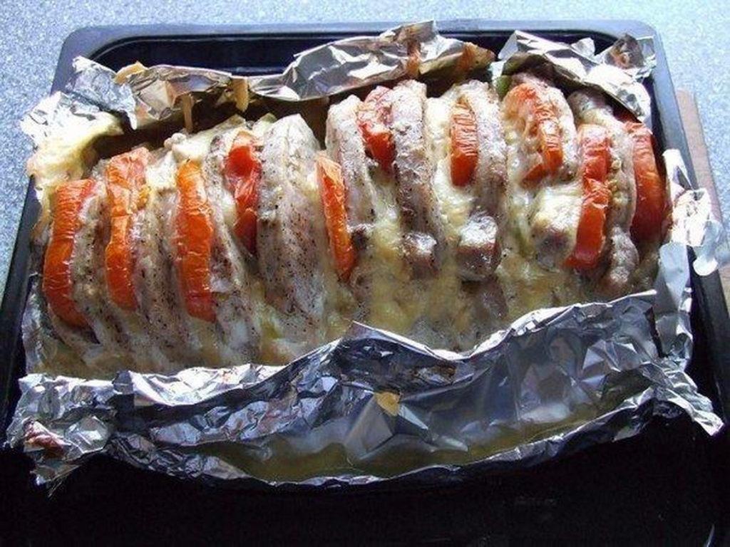 Как приготовить мясо гармошкой в духовке