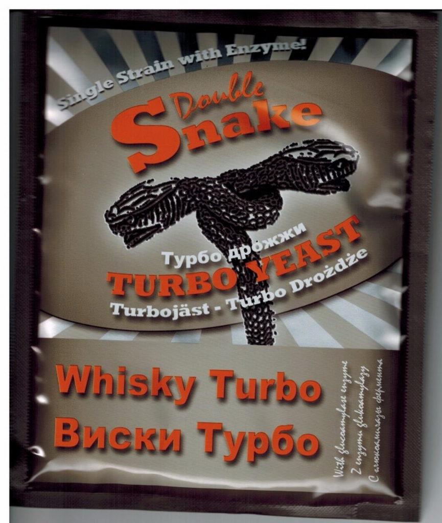 Турбо дрожжи Double Snake Whisky (срок годности до 03.2018)