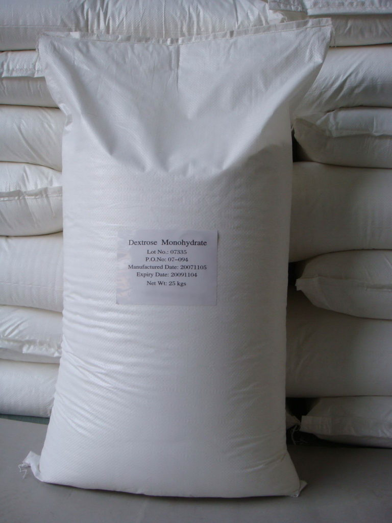 Декстроза (глюкоза) мешок 25 кг