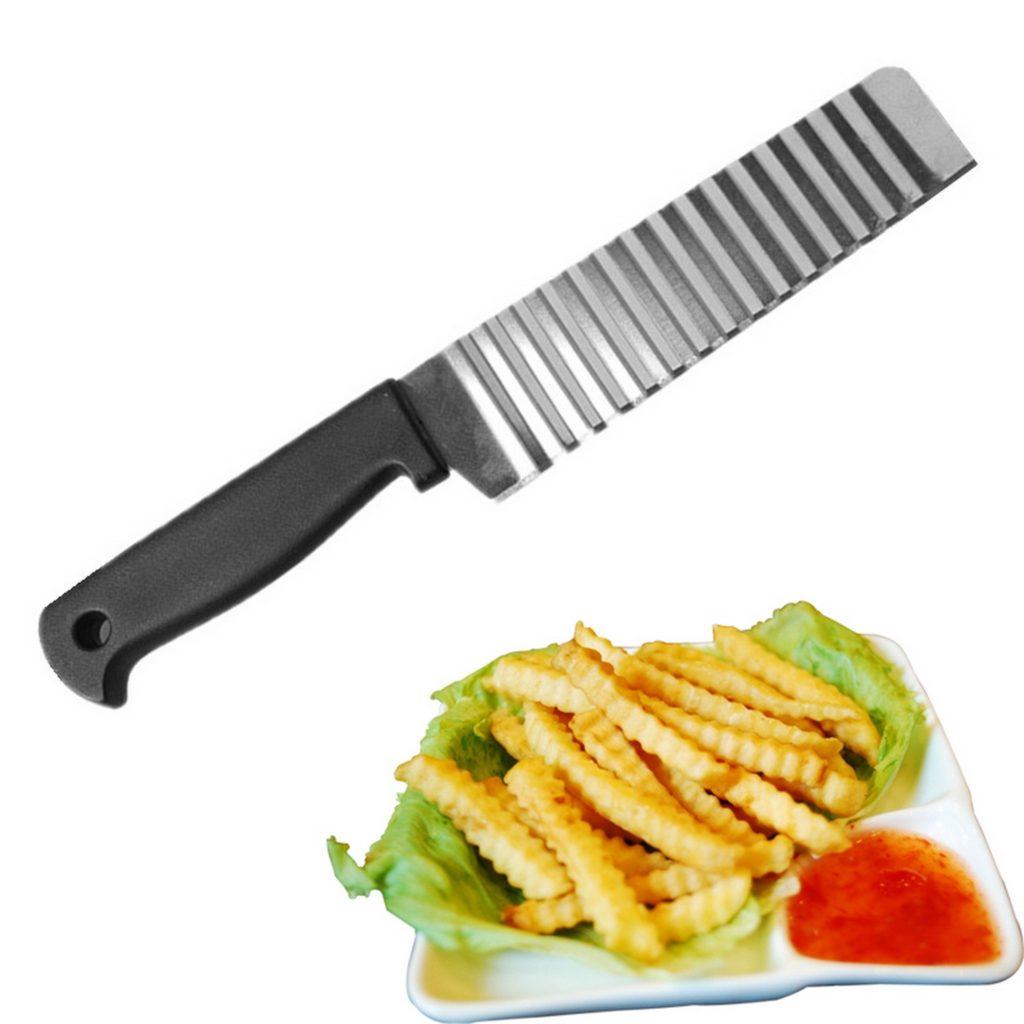 Нож для фигурной нарезки картошки фри