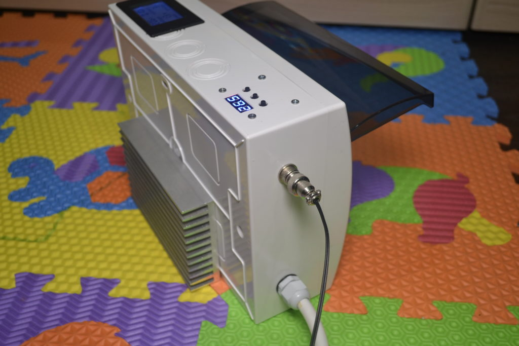 Регулятор мощности ТЭНа — РМ-2Т с контролем температуры (высокоточный)