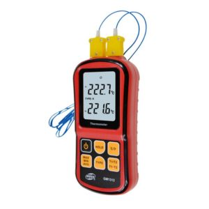 Профессиональный термометр с двумя термопарами BENETECH GM1312