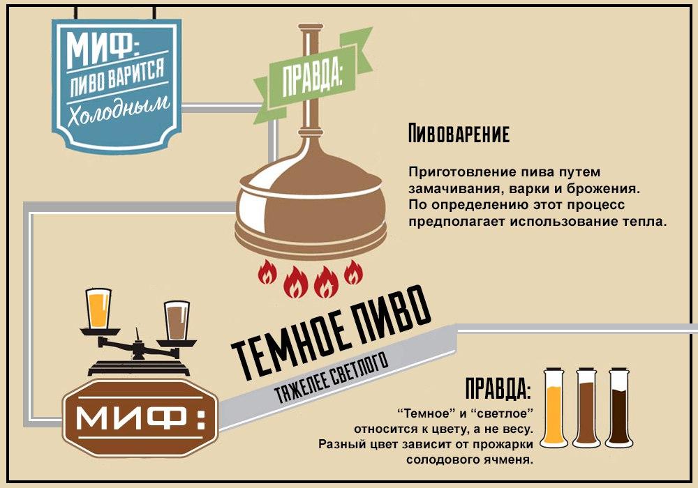 Правда и мифы о пиве