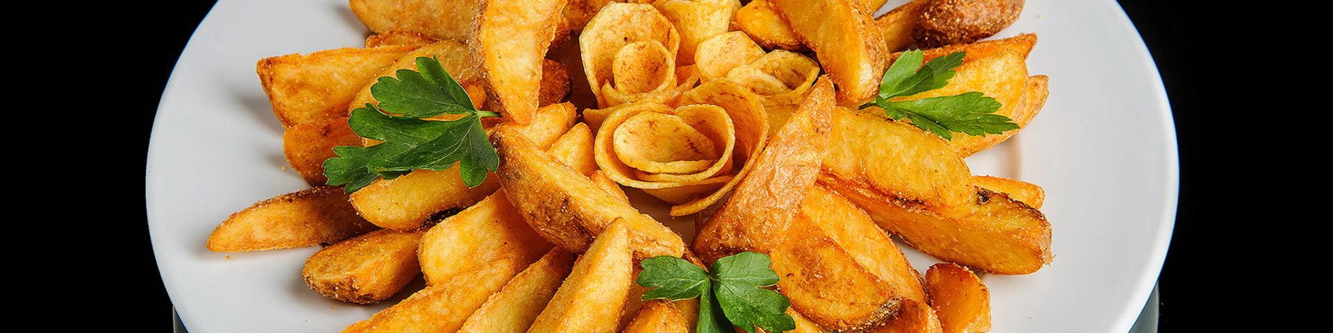 Картошка по деревенски