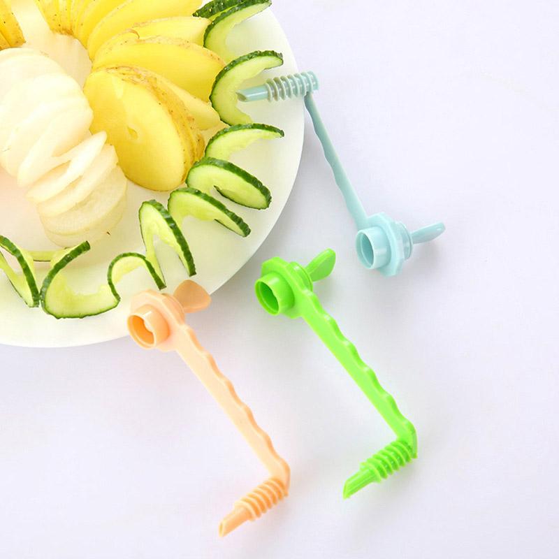 Нож для спиральной нарезки овощей